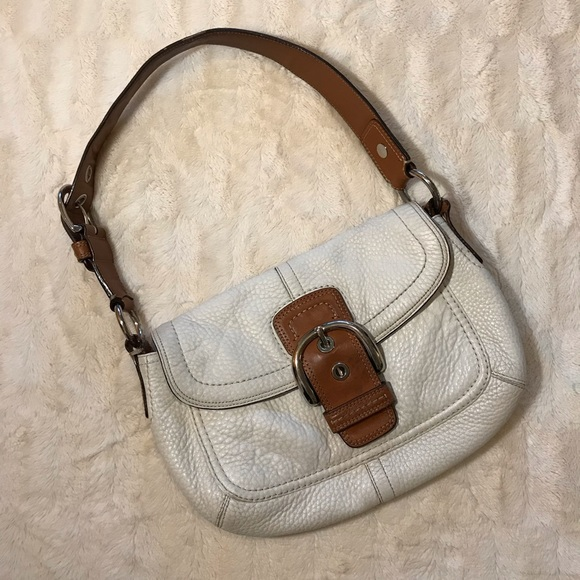 bd4f94ce1b22 Coach Bags   Saddle Soho Pebbled Leather Handbag Purse   Poshmark